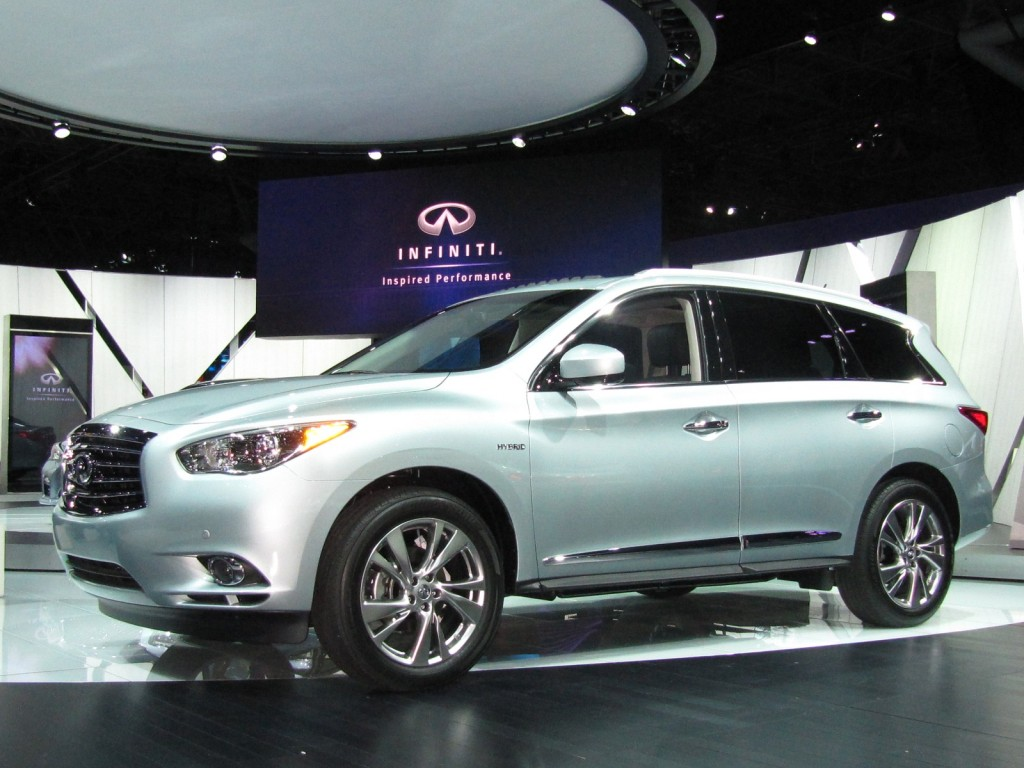 2014 Infiniti QX60 Hybrid, at 2013 New York Auto Show