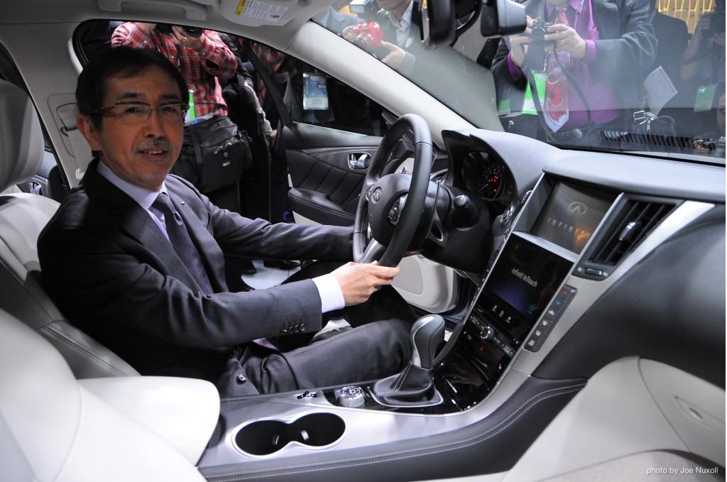 2014 Infiniti Q50 revealed at the 2013 Detroit Auto Show