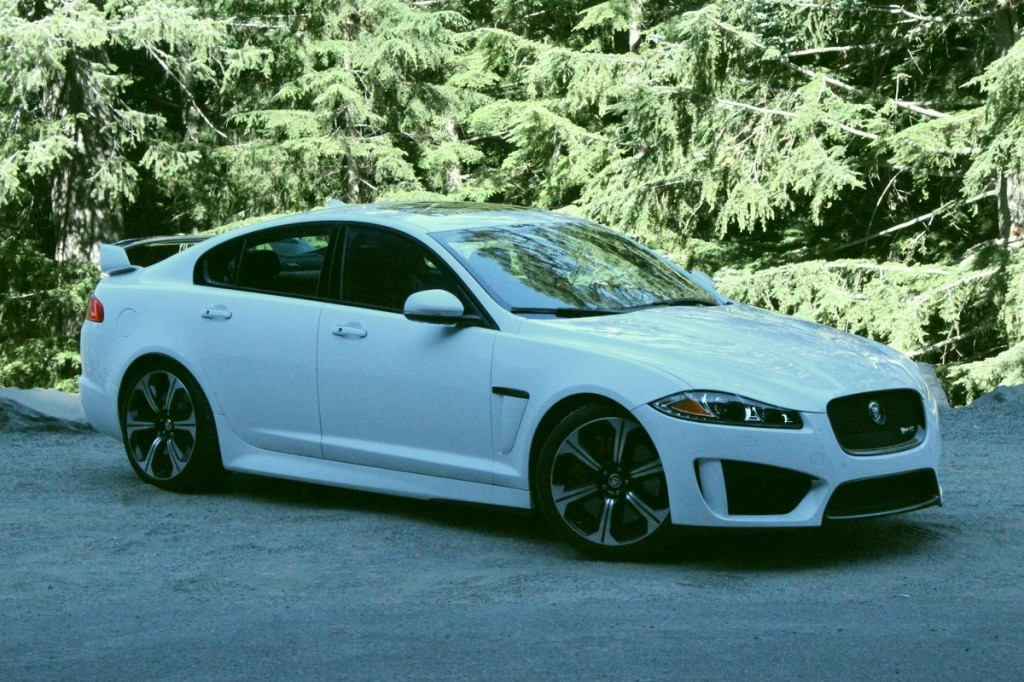 2014 Jaguar XFR-S  -  First Drive, August 2013