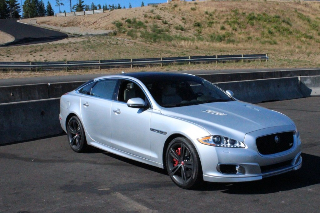 2014 Jaguar XJR  -  First Drive, August 2013