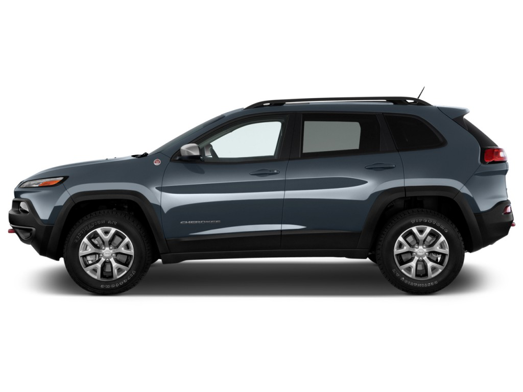 image 2014 jeep cherokee 4wd 4 door trailhawk side exterior view size 1024 x 768 type gif. Black Bedroom Furniture Sets. Home Design Ideas