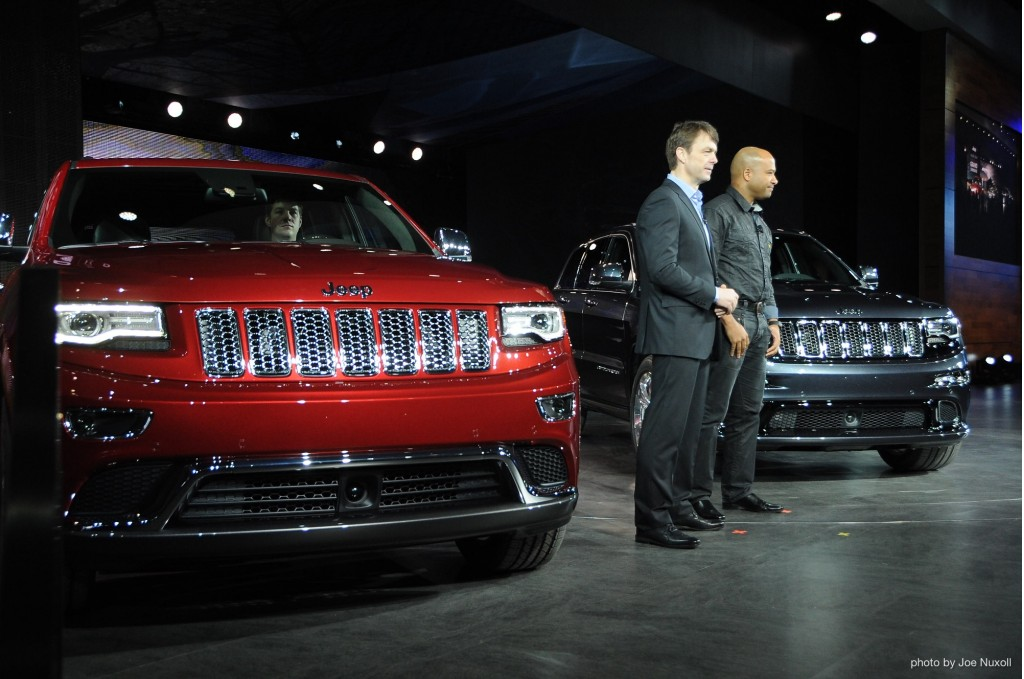2014 Jeep Grand Cherokee at 2013 Detroit Auto Show