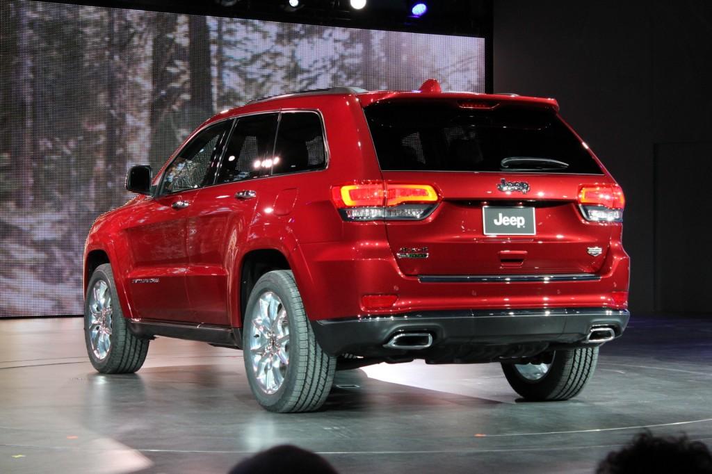 2014 Jeep Grand Cherokee  -  2013 Detroit Auto Show