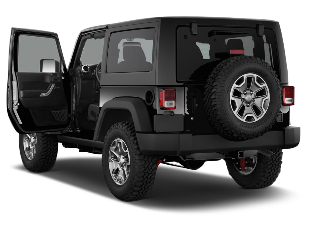 Image: 2014 Jeep Wrangler 4WD 2-door Rubicon Open Doors ...