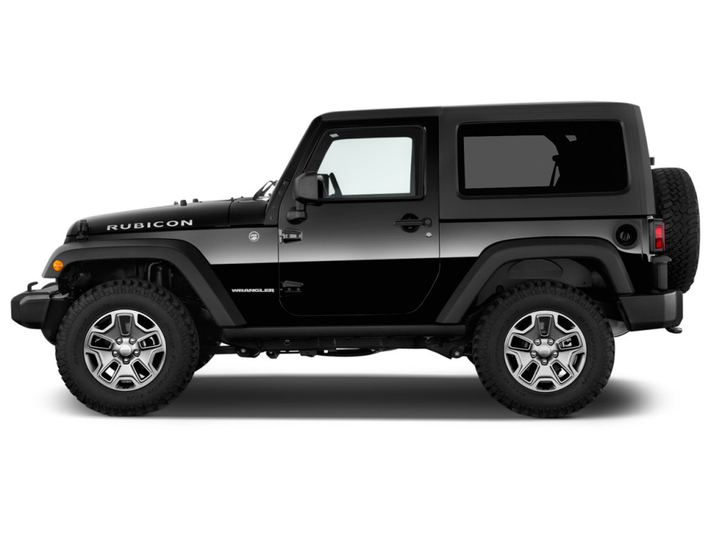 Image: 2014 Jeep Wrangler 4WD 2-door Rubicon Side Exterior ...