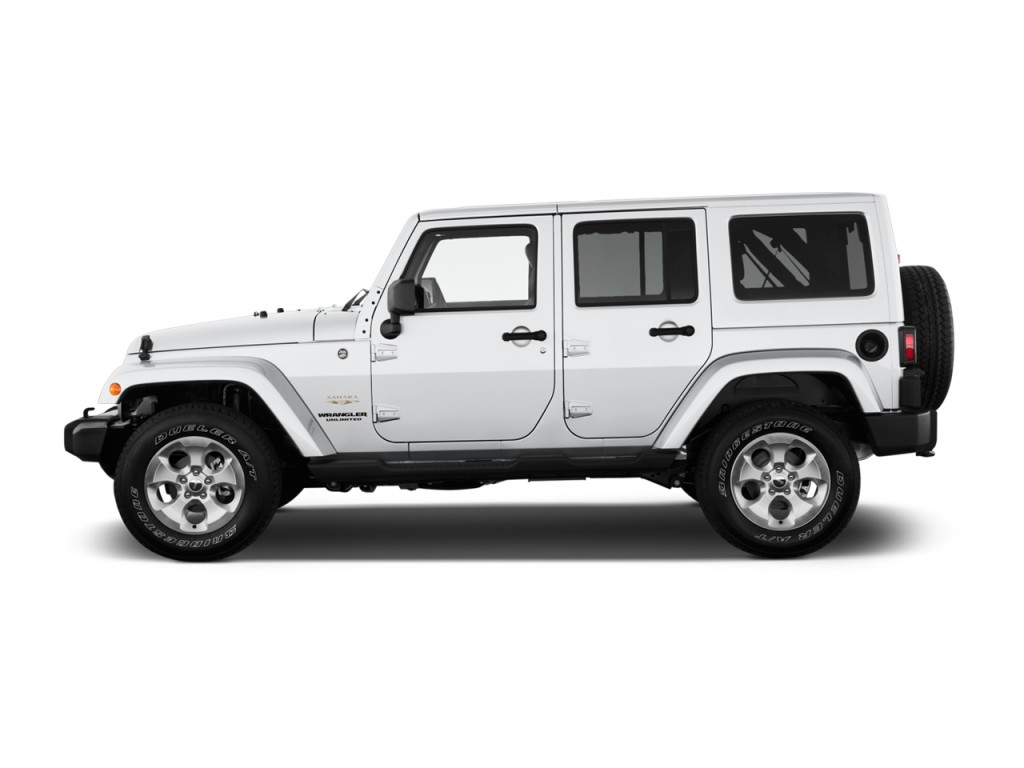 image 2014 jeep wrangler unlimited 4wd 4 door sahara side exterior. Cars Review. Best American Auto & Cars Review