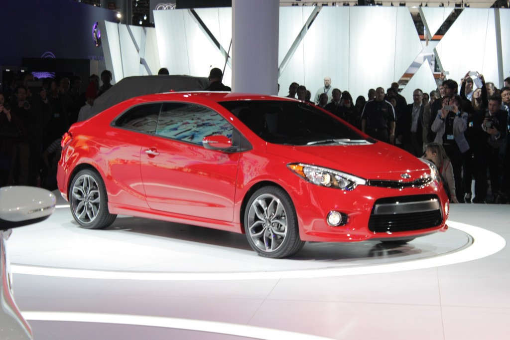 2014 Kia Forte Koup: Two-Door Compact Gets Familial Updates