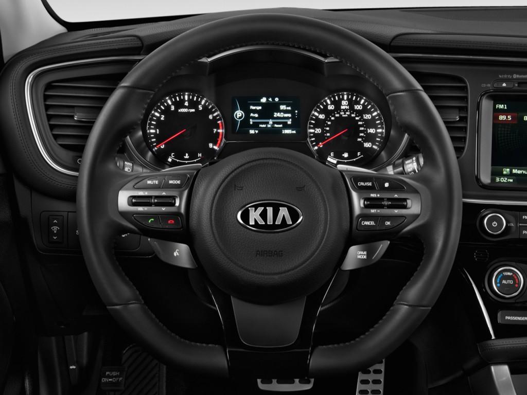 Image 2014 Kia Optima 4 Door Sedan Sx Steering Wheel