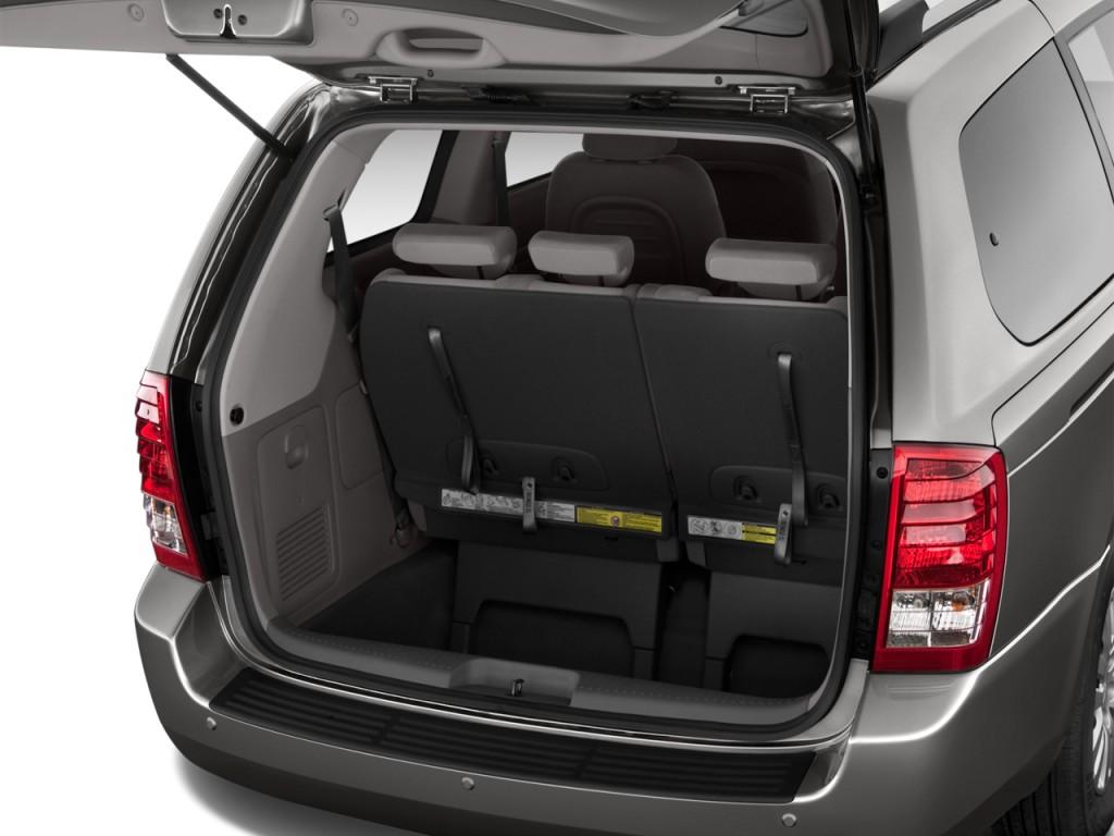 Image 2014 Kia Sedona 4 Door Wagon Lx Trunk Size 1024 X