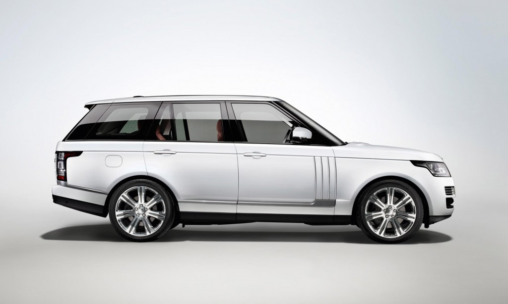 2014 Land Rover Range Rover Long-Wheelbase Autobiography Black