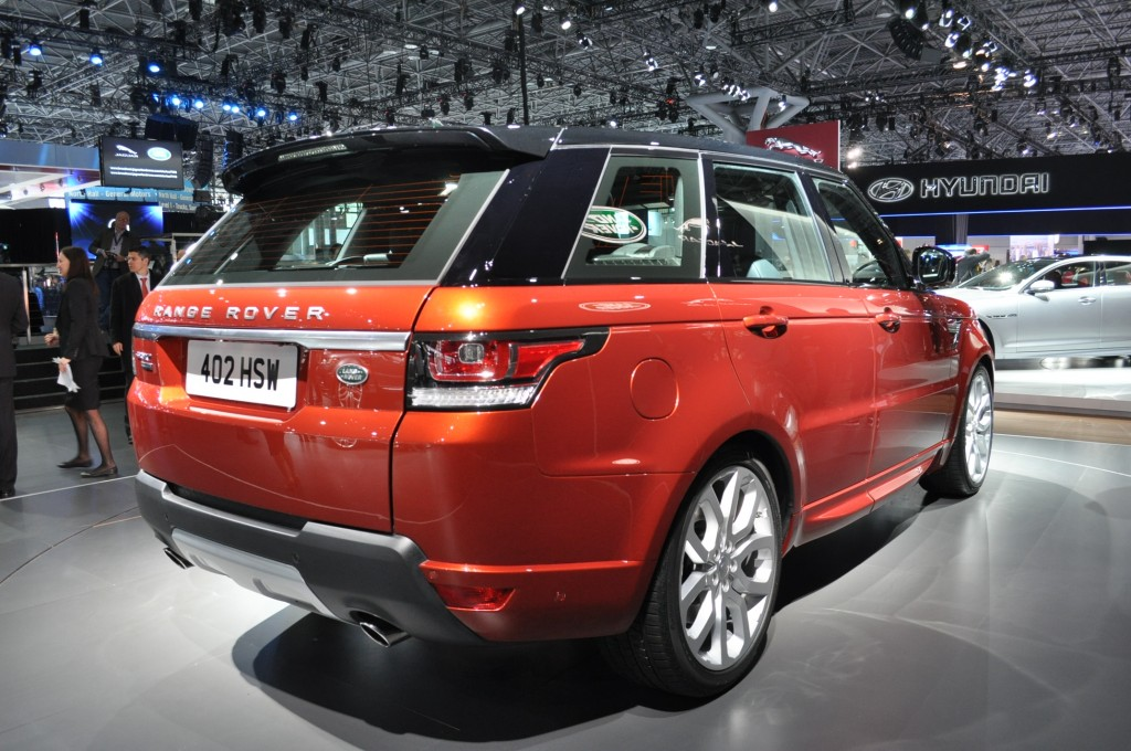 2014 Range Rover Sport Live Photos