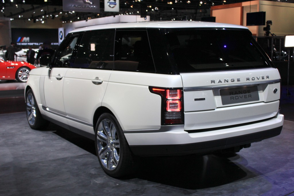 image 2014 land rover range rover long wheelbase autobiography black 2013 los angeles auto. Black Bedroom Furniture Sets. Home Design Ideas