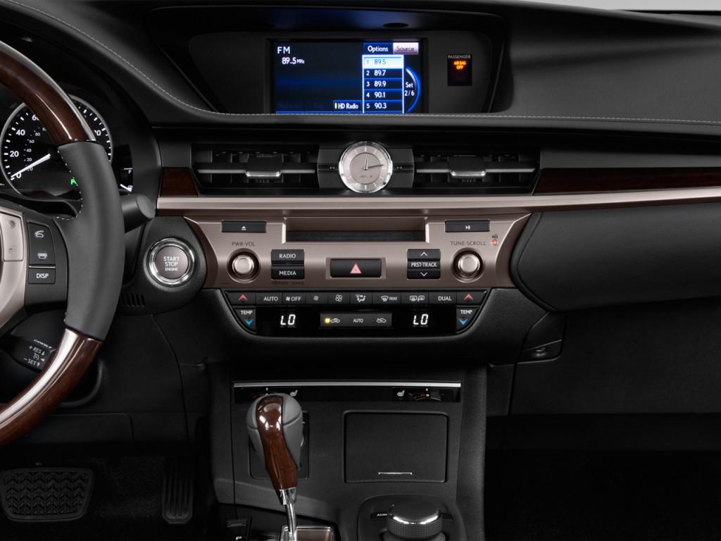 image 2014 lexus es 350 4 door sedan instrument panel. Black Bedroom Furniture Sets. Home Design Ideas