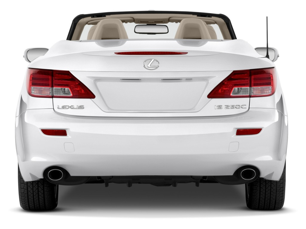 image 2014 lexus is 250c 2 door convertible rear exterior. Black Bedroom Furniture Sets. Home Design Ideas