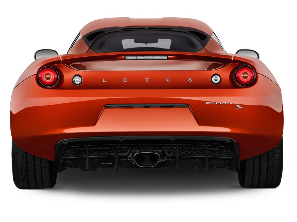 image 2014 lotus evora 2 door coupe s 2 2 rear exterior. Black Bedroom Furniture Sets. Home Design Ideas