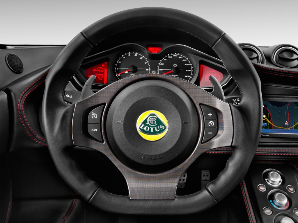image 2014 lotus evora 2 door coupe s 2 2 steering wheel. Black Bedroom Furniture Sets. Home Design Ideas