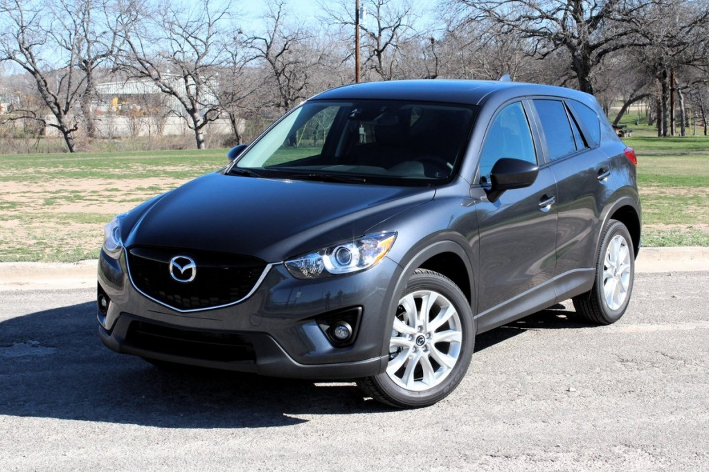 2014 Mazda CX-5 Grand Touring 2.5  -  First Drive, February 2013