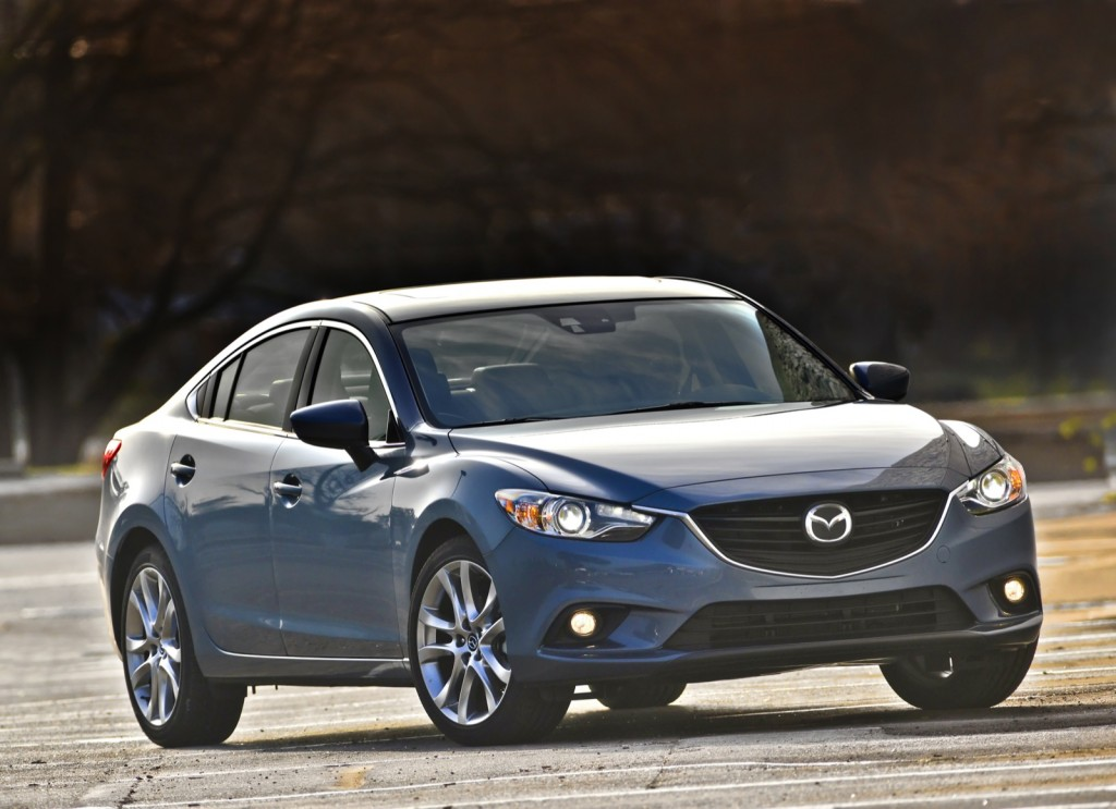 2014 Mazda6 Tech Package Earns 40 Mpg Highway