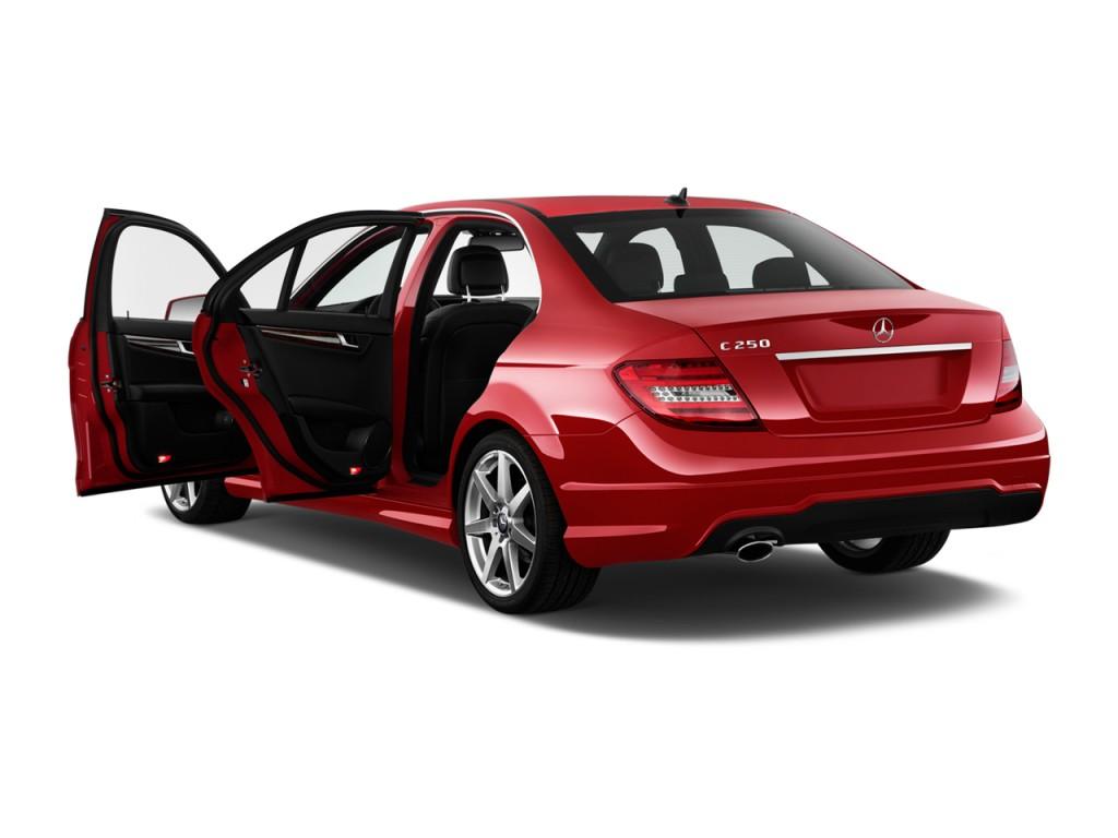 Image 2014 mercedes benz c class 4 door sedan c250 sport for 4 door mercedes benz