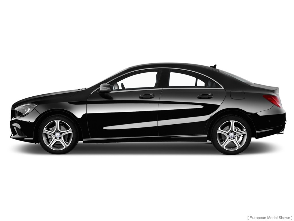 2014 Mercedes-Benz CLA Class 4-door Sedan CLA250 FWD Side Exterior View