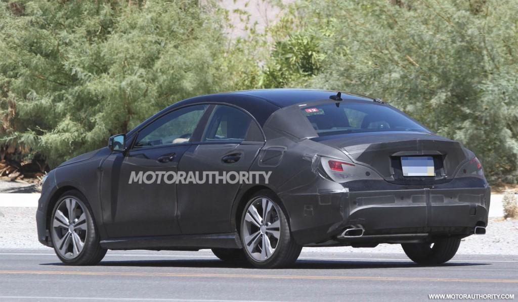 2014 Mercedes-Benz CLA Class spy shots