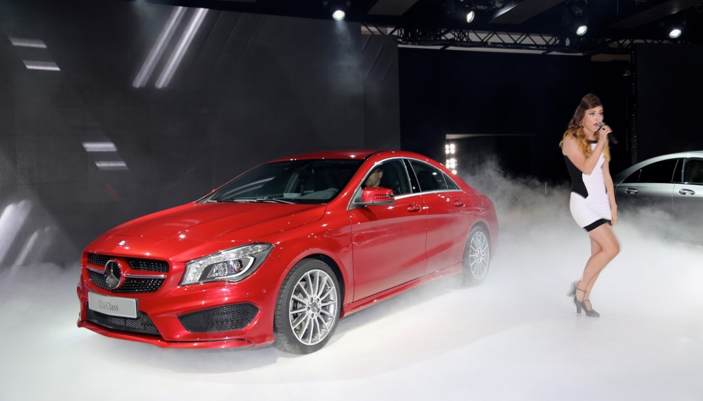 2014 Mercedes-Benz CLA and Karmin