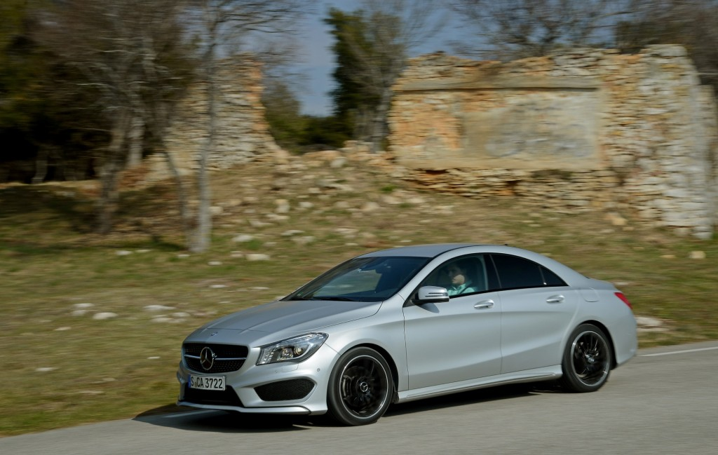 2014 Mercedes-Benz CLA 250