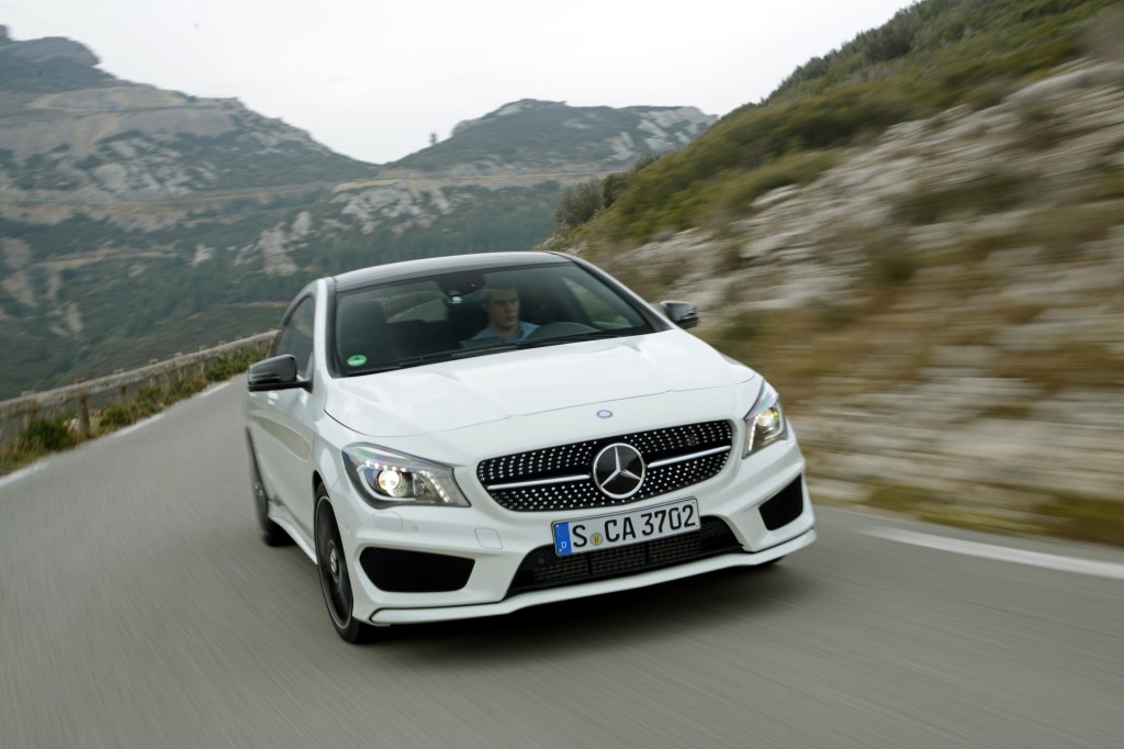 Image gallery 2014 mercedes cla 250 for 2014 mercedes benz cla 250 review
