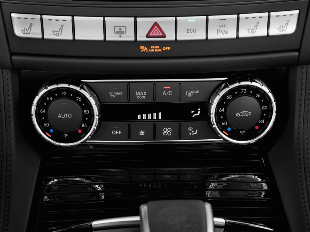 image 2014 mercedes benz cls class 4 door sedan cls63 amg 4matic temperature controls size. Black Bedroom Furniture Sets. Home Design Ideas