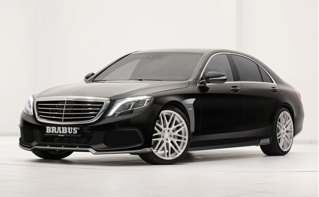 brabus brings the heat for the 2014 mercedes benz s class