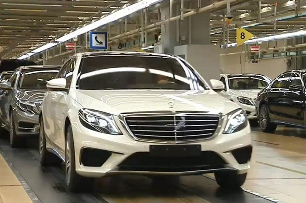 2014 mercedes benz s63 amg revealed early in official video - Mercedes Benz S63 Amg 2014