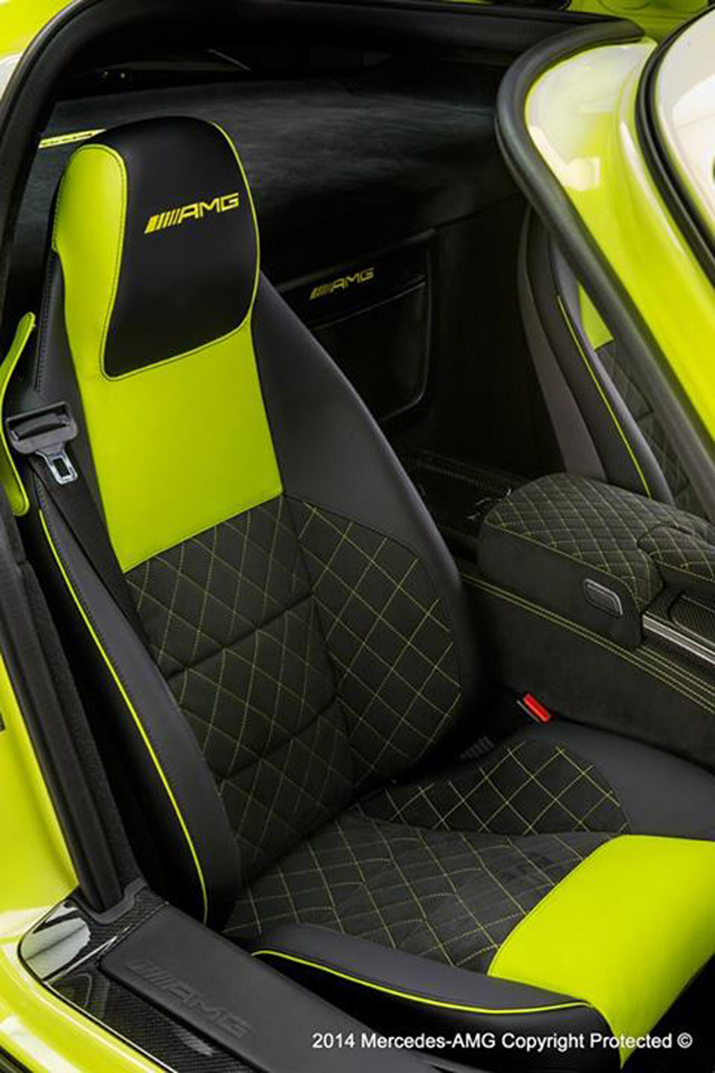 2014 Mercedes-Benz SLS AMG Black Series enhanced by the AMG Performance Studio