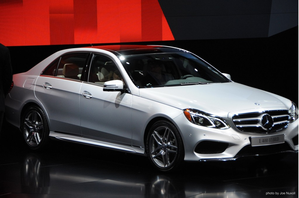 2014 Mercedes E400 Hybrid revealed at the 2013 Detroit Auto Show
