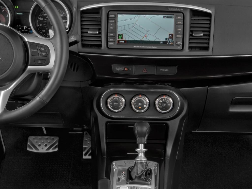Image 2014 Mitsubishi Lancer Evolution Ralliart 4 Door Sedan Tc Sst Mr Instrument Panel Size