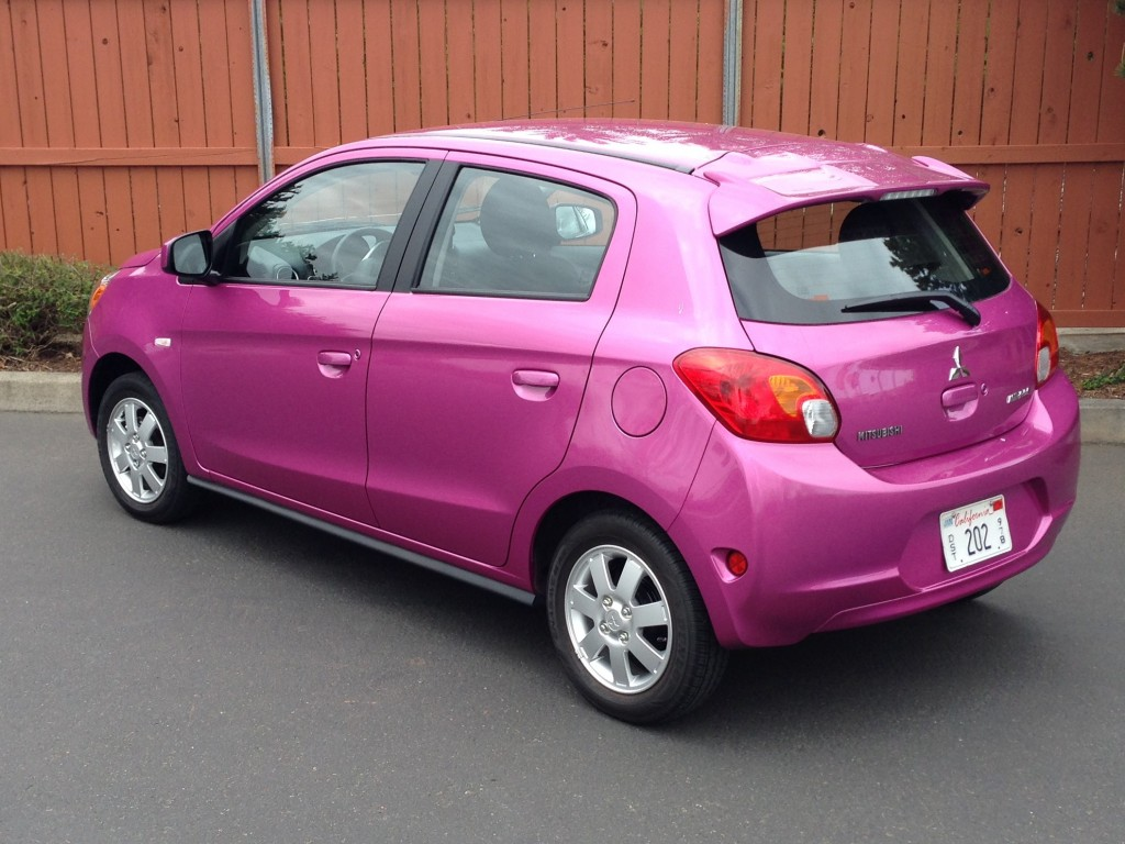 2014 Mitsubishi Mirage ES  -  Driven, April 2014