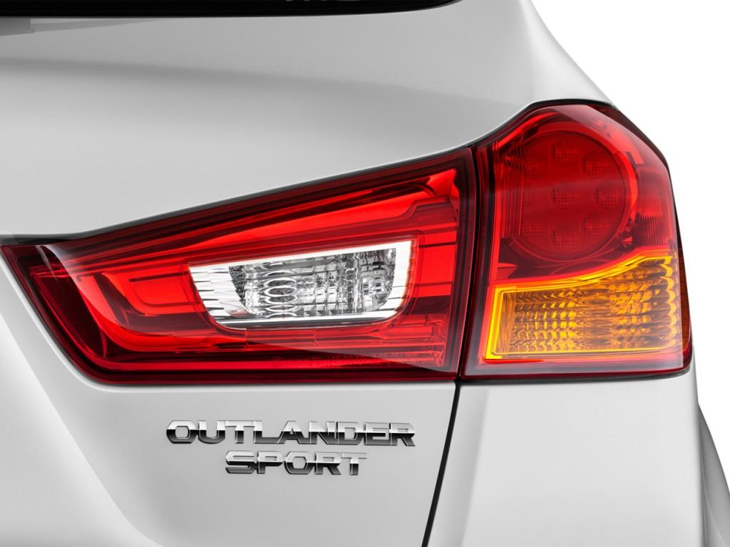 Image: 2014 Mitsubishi Outlander Sport 2WD 4-door CVT SE Tail Light, size: 1024 x 768, type: gif ...