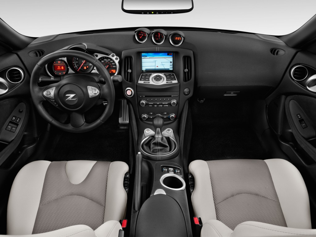 Image 2014 nissan 370z 2 door roadster auto dashboard size 1024 2014 nissan 370z 2 door roadster auto dashboard vanachro Gallery