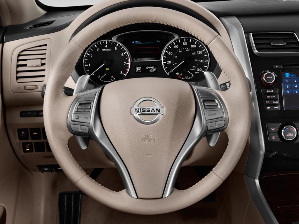 Image 2014 Nissan Altima 4 Door Sedan I4 2 5 Sl Steering