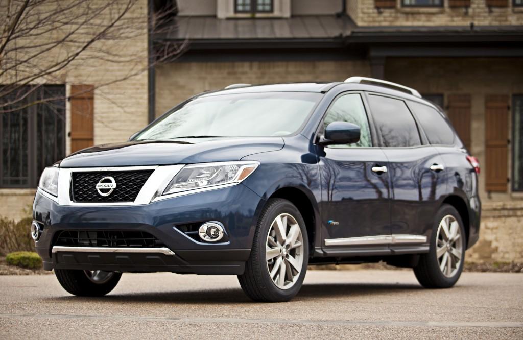 2014 Nissan Pathfinder Finds Five-Star Federal Safety Rating