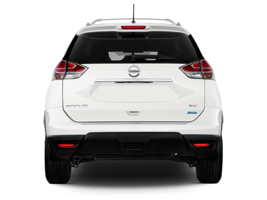 2009 Nissan Maxima Sv >> Image: 2014 Nissan Rogue FWD 4-door SV Rear Exterior View, size: 1024 x 768, type: gif, posted ...