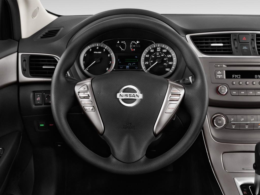 image 2014 nissan sentra 4 door sedan i4 cvt sv steering wheel size 1024 x 768 type gif. Black Bedroom Furniture Sets. Home Design Ideas