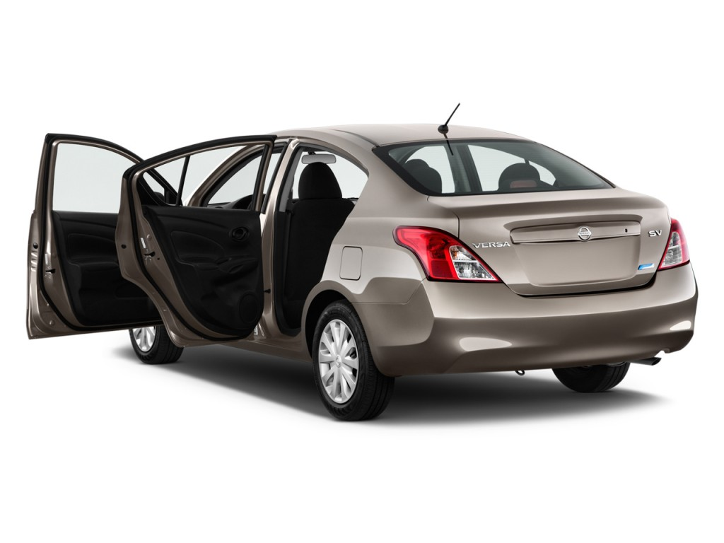 image 2014 nissan versa 4 door sedan cvt 1 6 sv open. Black Bedroom Furniture Sets. Home Design Ideas