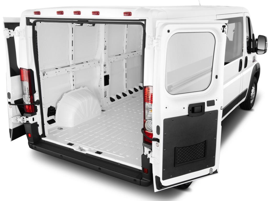 image 2014 ram promaster 2500 window van high roof 159 wb trunk size 1024 x 768 type gif. Black Bedroom Furniture Sets. Home Design Ideas