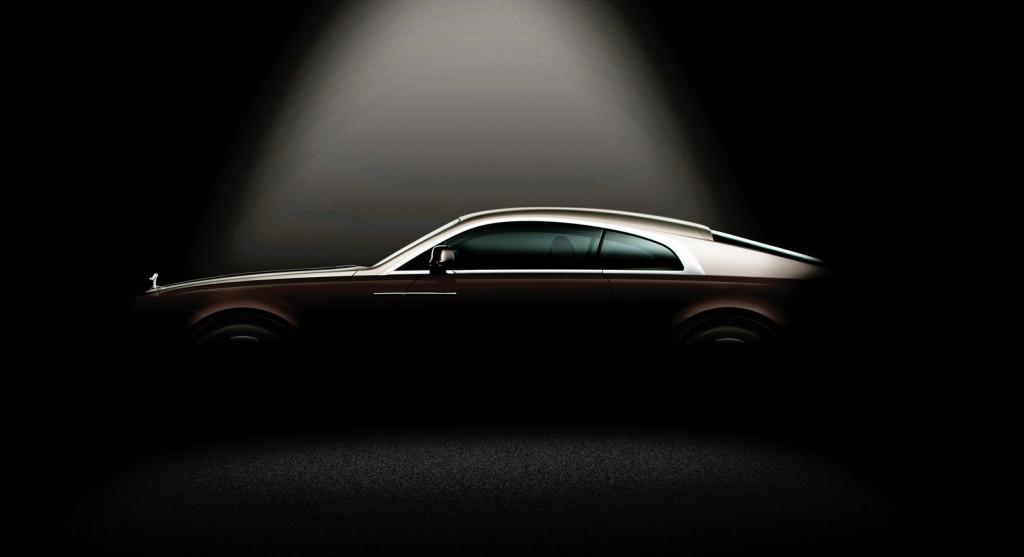2014 Rolls-Royce Wraith teaser