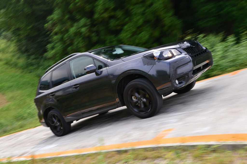 2014 Subaru Forester Preview Drive  -  pre-production mule, Japan Proving Grounds