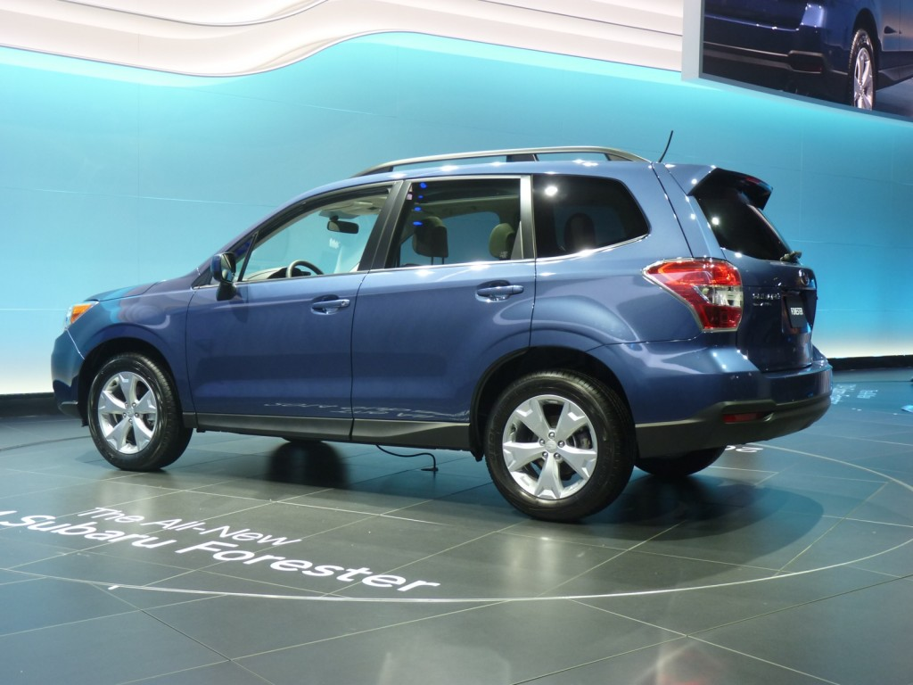 2014 Subaru Forester  -  2012 Los Angeles Auto Show