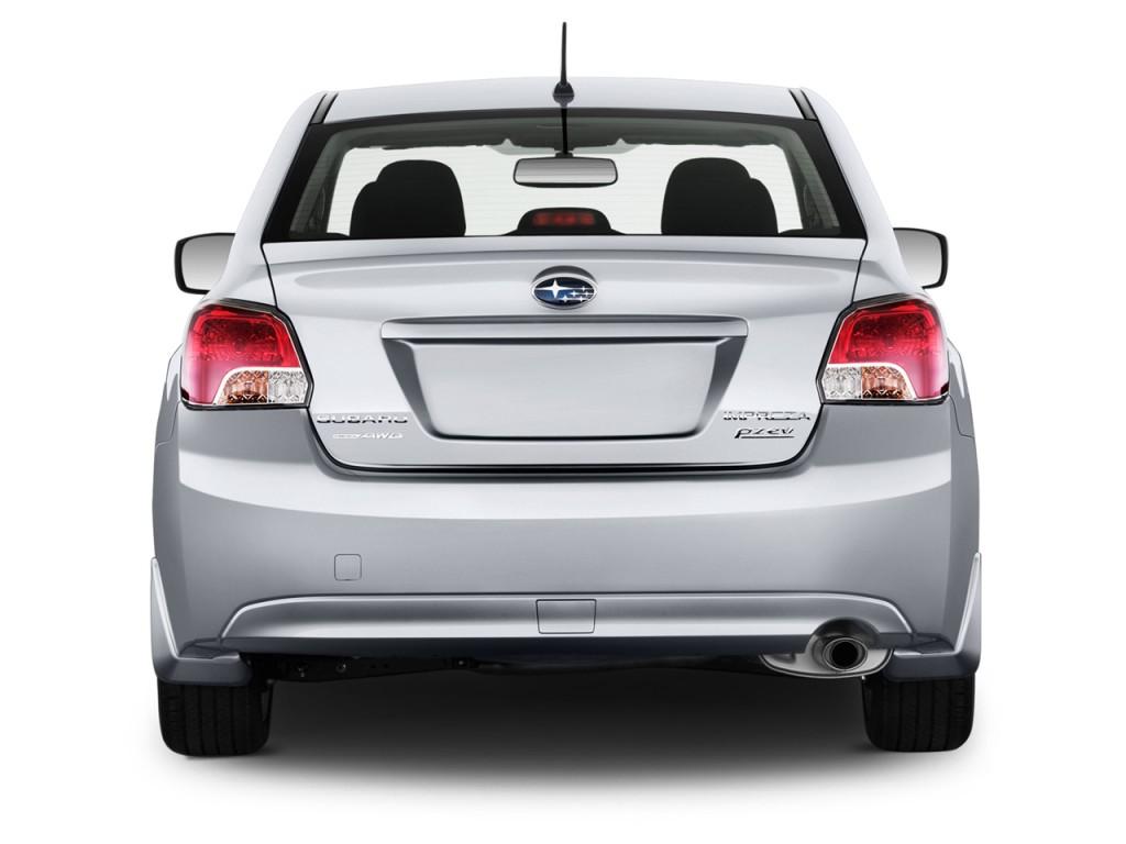 Image 2014 Subaru Impreza 4 Door Auto 2 0i Rear Exterior