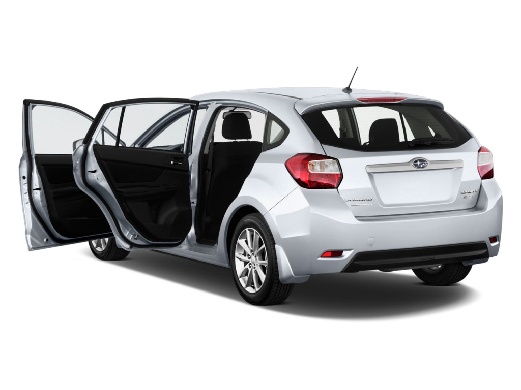 image 2014 subaru impreza 5dr auto open doors size. Black Bedroom Furniture Sets. Home Design Ideas