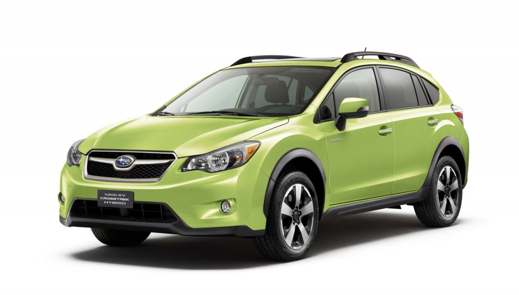 2014 Subaru XV Crosstrek, Hybrid: (Mostly) Top Safety Scores From Feds