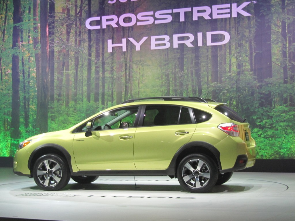image 2014 subaru xv crosstrek hybrid at 2013 new york auto show size 1024 x 768 type gif. Black Bedroom Furniture Sets. Home Design Ideas